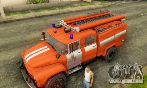 ZIL 130 CA-40 para GTA San Andreas vista hacia atrás