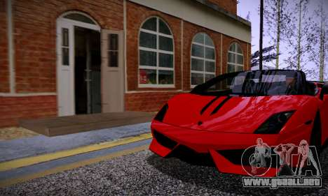 ENBSeries for low PC v2 fix para GTA San Andreas tercera pantalla