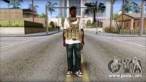 Sweet Mercenario para GTA San Andreas segunda pantalla