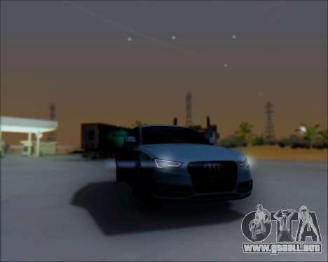 Audi A7 para la visión correcta GTA San Andreas