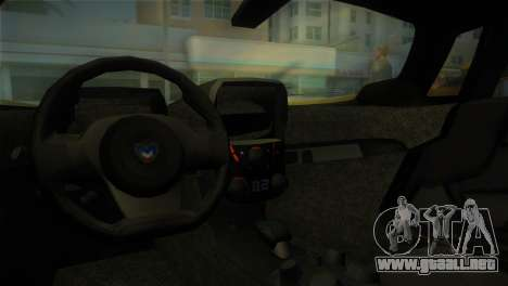 Marussia B2 2010 para GTA Vice City visión correcta