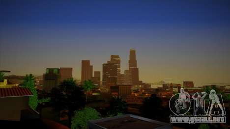 ENBSeries para un PC potente para GTA San Andreas sucesivamente de pantalla