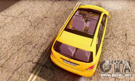 Mercedes-Benz R350 para vista lateral GTA San Andreas