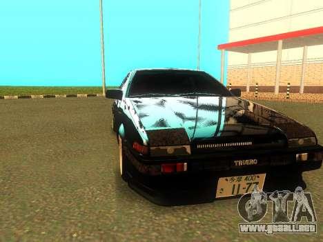 Toyota Corolla AE86 Trueno JDM para GTA San Andreas left