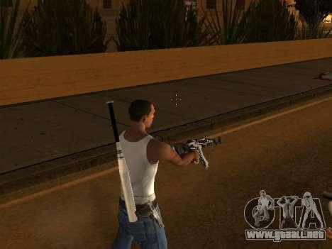 AK47 from CS:GO para GTA San Andreas sucesivamente de pantalla