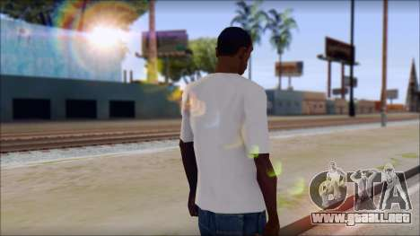 Anarchy T-Shirt v3 para GTA San Andreas segunda pantalla