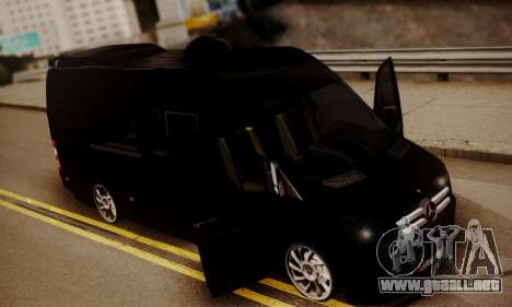 Mercedes-Benz Sprinter 315 CDi para visión interna GTA San Andreas