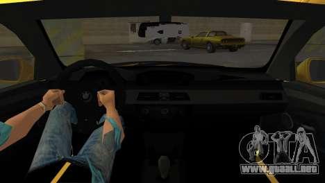 BMW M5 E60 para GTA Vice City vista lateral izquierdo