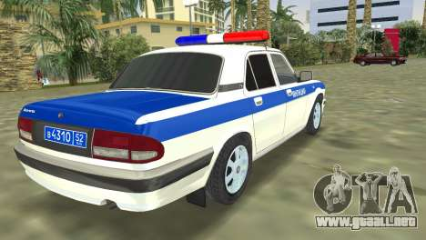 GAZ 31105 Volga DPS para GTA Vice City left