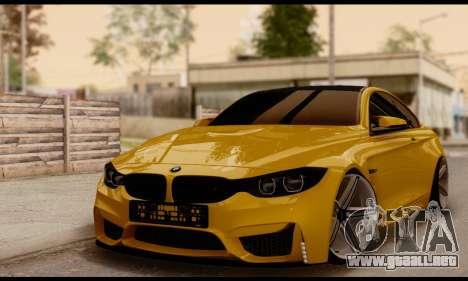 BMW M4 para GTA San Andreas