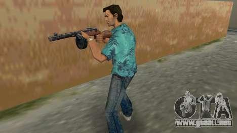 Submachine Gun Shpagina para GTA Vice City segunda pantalla