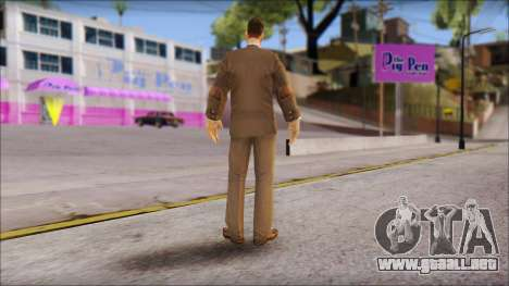 Dr. Crabblesnitch from Bully Scholarship Edition para GTA San Andreas tercera pantalla