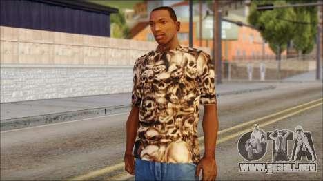 Skulls Shirt para GTA San Andreas