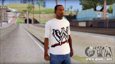 WWE Logo T-Shirt mod v1 para GTA San Andreas