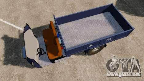 Agrícola triciclo para GTA 4 visión correcta