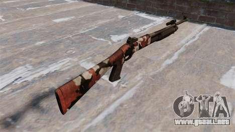Ружье Benelli M3 Super 90 inyectados de sangre. para GTA 4 segundos de pantalla