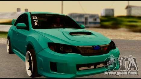 Subaru Impreza Stance Works para GTA San Andreas