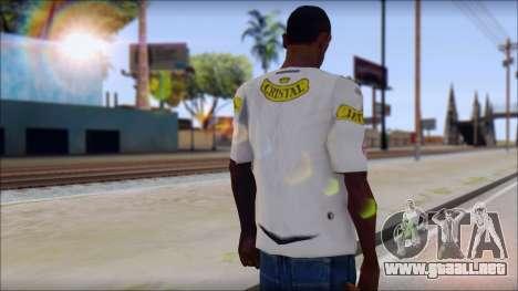 Colo Colo 09 T-Shirt para GTA San Andreas segunda pantalla