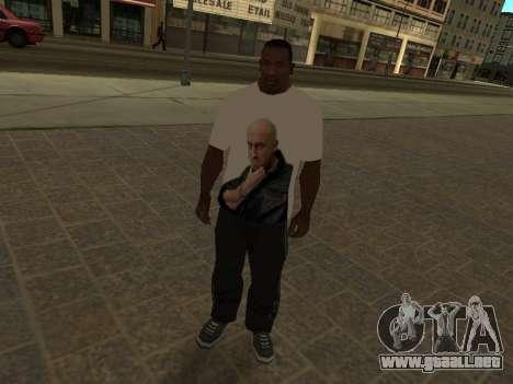 T-Shirt Maestro para GTA San Andreas