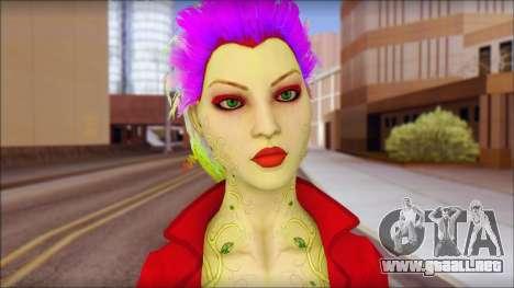 Poison Ivy PED para GTA San Andreas tercera pantalla