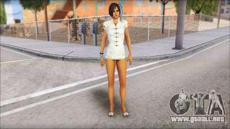 Ada Wong para GTA San Andreas segunda pantalla