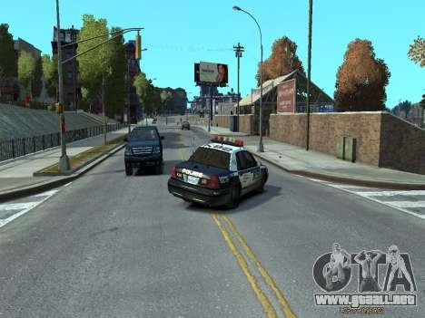 Ford Crown Victoria Police NYPD 2014 para GTA 4 visión correcta