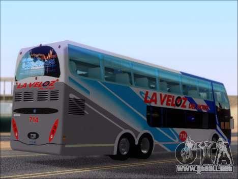 Metalsur Starbus DP 1 6x2 - La Veloz del Norte para la visión correcta GTA San Andreas