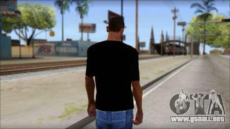 Metallica Master Of Puppets T-Shirt para GTA San Andreas segunda pantalla
