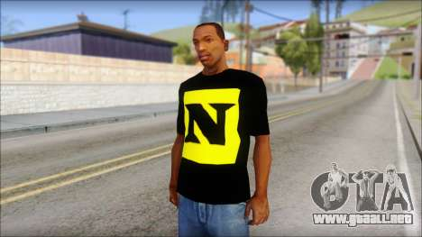 WWE Nexus T-Shirt para GTA San Andreas