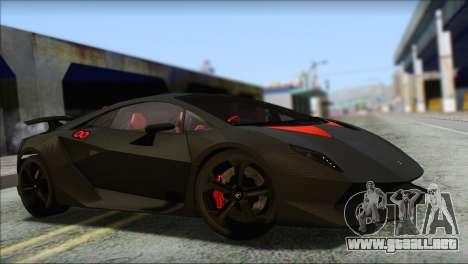 Lamborghini Sesto Elemento Concept 2010 para la vista superior GTA San Andreas