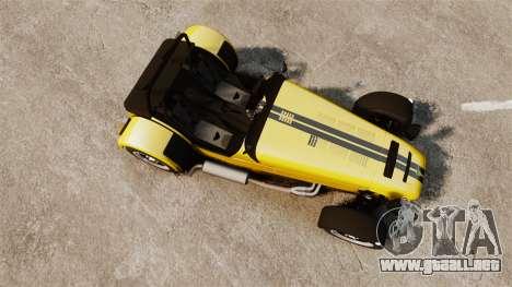 Caterham Seven 620 R para GTA 4 visión correcta