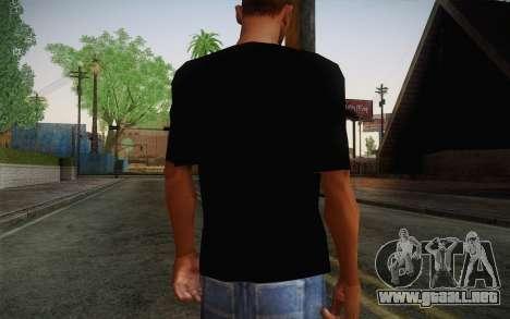 Batman Swag Shirt para GTA San Andreas segunda pantalla