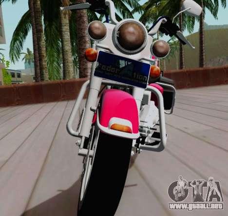 Harley-Davidson Road King Classic 2011 para la visión correcta GTA San Andreas
