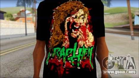 Trapheim T-Shirt Mod para GTA San Andreas tercera pantalla