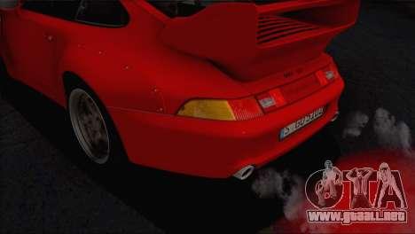 Porsche 911 GT2 (993) 1995 V1.0 EU Plate para el motor de GTA San Andreas
