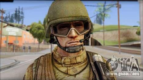 Desert GROM from Soldier Front 2 para GTA San Andreas tercera pantalla