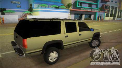 Chevrolet Suburban 1996 GMT400 para GTA Vice City left