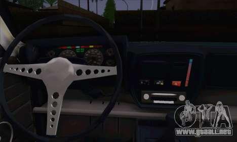 Peykan 1600i Limo para la visión correcta GTA San Andreas