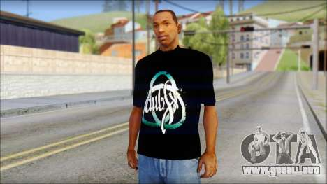 Dub Fx Fan T-Shirt v1 para GTA San Andreas