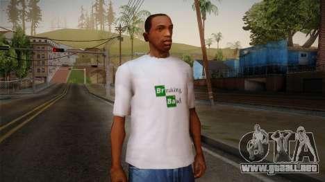 Breaking Bad Shirt para GTA San Andreas