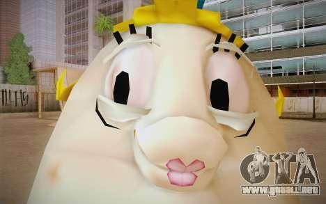Mrs. Puff from Sponge Bob para GTA San Andreas tercera pantalla