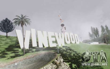 Graphical shell for SA para GTA San Andreas octavo de pantalla