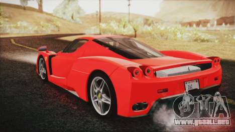 Ferrari Enzo 2002 para GTA San Andreas left