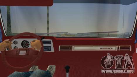 Chevrolet Silverado K-10 2500 1986 para GTA Vice City vista lateral izquierdo