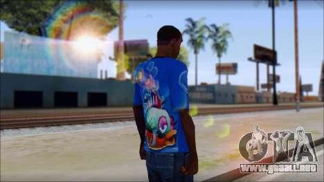 Fish T-Shirt para GTA San Andreas segunda pantalla