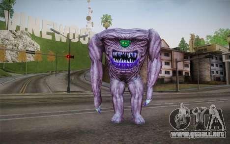 Gnaar from Serious Sam para GTA San Andreas