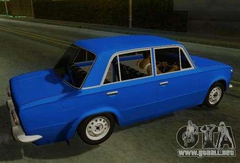 VAZ 2101 para GTA San Andreas left