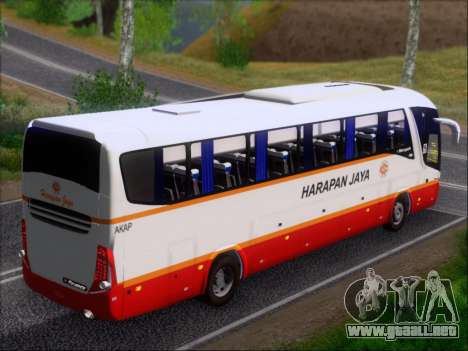 Marcopolo Paradiso 1200 Harapan Jaya para el motor de GTA San Andreas