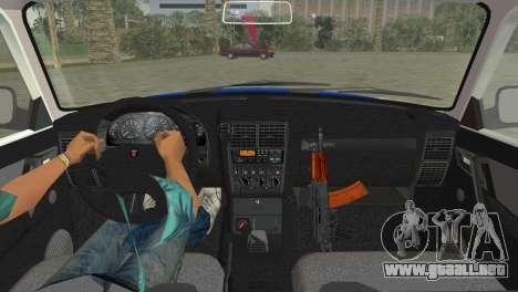 GAZ 31105 Volga DPS para GTA Vice City vista lateral izquierdo