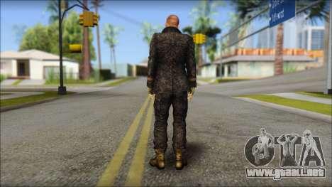 Jake Muller from Resident Evil 6 para GTA San Andreas segunda pantalla
